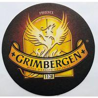 Подставка под пиво Grimbergen /Бельгия/-1