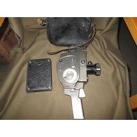 С 1 рубля.Кинокамера Кварц-3 ZOOM экспортный вариант.Редкость.