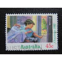 Австралия 1992 год. Рождество.