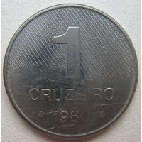 Бразилия 1 крузейро 1980 г. (d)