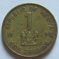 1 шиллинг 1998 г, Кения