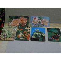 Календарики Цветы