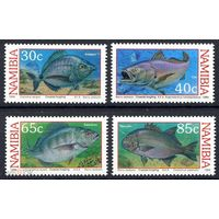 Намибия 1994 Фауна Рыбы Серия 4 м. MNH (40)