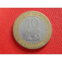 Кения 10 шиллингов.