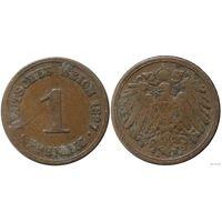 YS: Германия, Рейх, 1 пфенниг 1897A, KM# 10 (1)