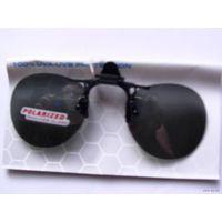 Солнцезащитные очки. насадка на очки. большая с зажимами   распродажа