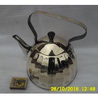 Латунный чайник,   объём - прим.2,5 л. СССР.