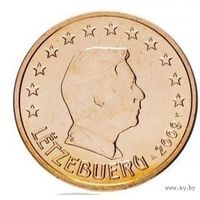 5 евроцентов 2009 Люксембург UNC из ролла