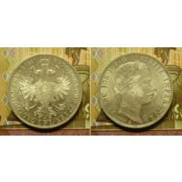 Австро-Венгрия 1 флорин 1861 г