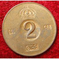 7244:  2 эре 1968 Швеция