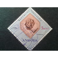 Ангола, колония Португалии 1970 минерал