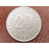20 сентаво 1954 Аргентина