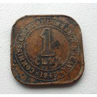 1 цент 1945 года Малайя - из коллекции