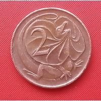 65-27 Австралия, 2 цента 1980 г.