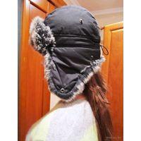 Молодёжная шапка-ушанка