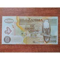 Замбия 500 квача 2009 UNC