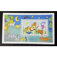 Германия 1995 г. Почта для детей, полная серия, Блок. Чистый #0102-Ч1P14