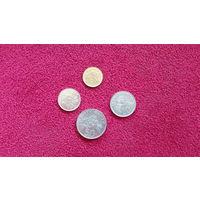 Сингапур 4 монеты