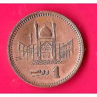 20-29 Пакистан, 1 рупия 2006 г.