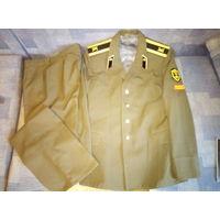 Парадно-выходная форма курсанта СА (китель, брюки)