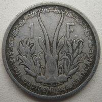 Французская Западная Африка 1 франк 1948 г.
