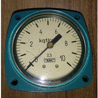 Манометр МТП-3М (10 кгс/см2) для водорода