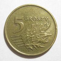 Польша 5 грошей 1999