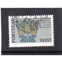 """Португалия. Ми- 935. Колосья Серия: компания """"Свобода от голода"""". 1963."""