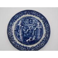 Тарелка Декоративная Праздник Фарфор Delft