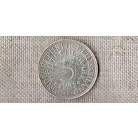 Германия 5 МАРОК 1951 F  //(AR)