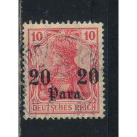 Германия Почта за рубежом Османская Имп (Турция) 1905 Надп #37