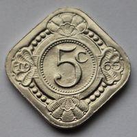 Нидерландские Антильские острова, 5 центов 1965 г.