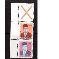 Индонезия-1981,(Мих.974-975)  ** , стандарт