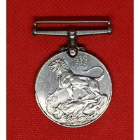 Военная медаль 1939-1945. ВМВ. Англия