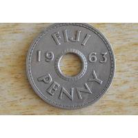 Фиджи 1 пенни 1963