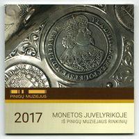 Магнит - отрывной календарь Музея Банка Литвы
