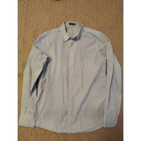 Голубая рубашка (фирма ТВОЕ) р.46-48