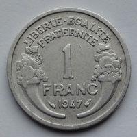 Франция 1 франк. 1947