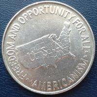1/2 долара США Буккер и еще один мужик