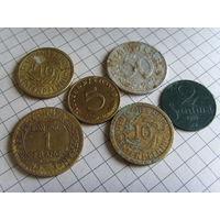 Монеты европа