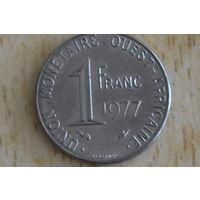 Западная Африка 1 франк 1977