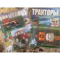 Тракторы -92 и 103. Т-150к и МТЗ-102.