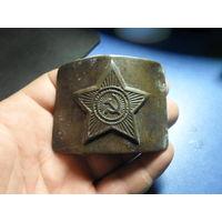 Пряжка ВС СССР (3) латунь торг обмен