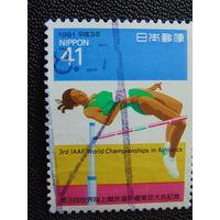 Япония 1991 г. Спорт.