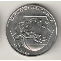 Португалия 200 эскудо 1991 Навигация на запад