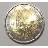 2 евро 2017. Литва. Вильнюс.