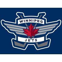 Фуфайка  (ДЖЕРСИ)  канадского хоккейного клуба Виннипег Джетс (англ. Winnipeg Jets)