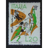 Италия 1971г. Спорт.