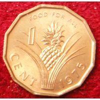 6838:  1 цент 1975 Свазиленд