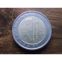 Нидерланды 2 евро 2001